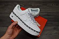 Чоловічі кросівки Nike Air Force 1 Low White Ribbon Pack, фото 1