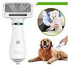 ОПТ Пилосос-гребінець для вовни Home Fest Pet Grooming Dryer WN-10 Білий, фото 3
