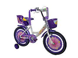 Детский велосипед Girls (18 дюймов) фиолетовый