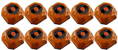 Фото: кнопки вызова официанта HCM-110 Wood - 10 штук - комплект системы вызова RECS №105