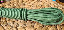 Шнур плетений 5 мм з сердечником М'ята