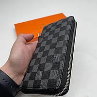 Кошелёк мужской Louis Vuitton Портмоне премиум качества Луи Виттон Клатч мужской