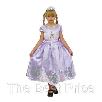 Маскарадный костюм София Прекрасная (размер 4-6 лет)