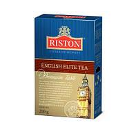 Чай черный и зеленый листовой Ристон Английский Элитный с бергамотом 200 г