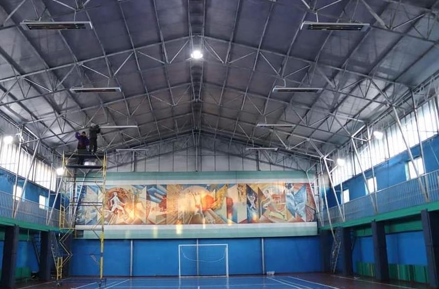 Отопление спортзалов, фитнес залов