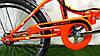 """Складаний електровелосипед Azimut 20"""" 350W 24v (пробіг - 30км), фото 5"""