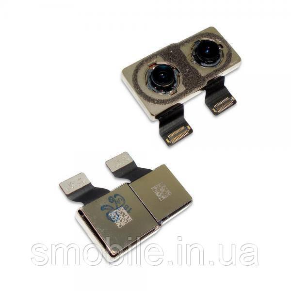 Камера основная iPhone X (модуль с двумя камерами) (оригинал)