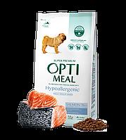 Optimeal Hypoallergenic Medium Breed, гіпоалергенний корм для собак середніх порід, 650г