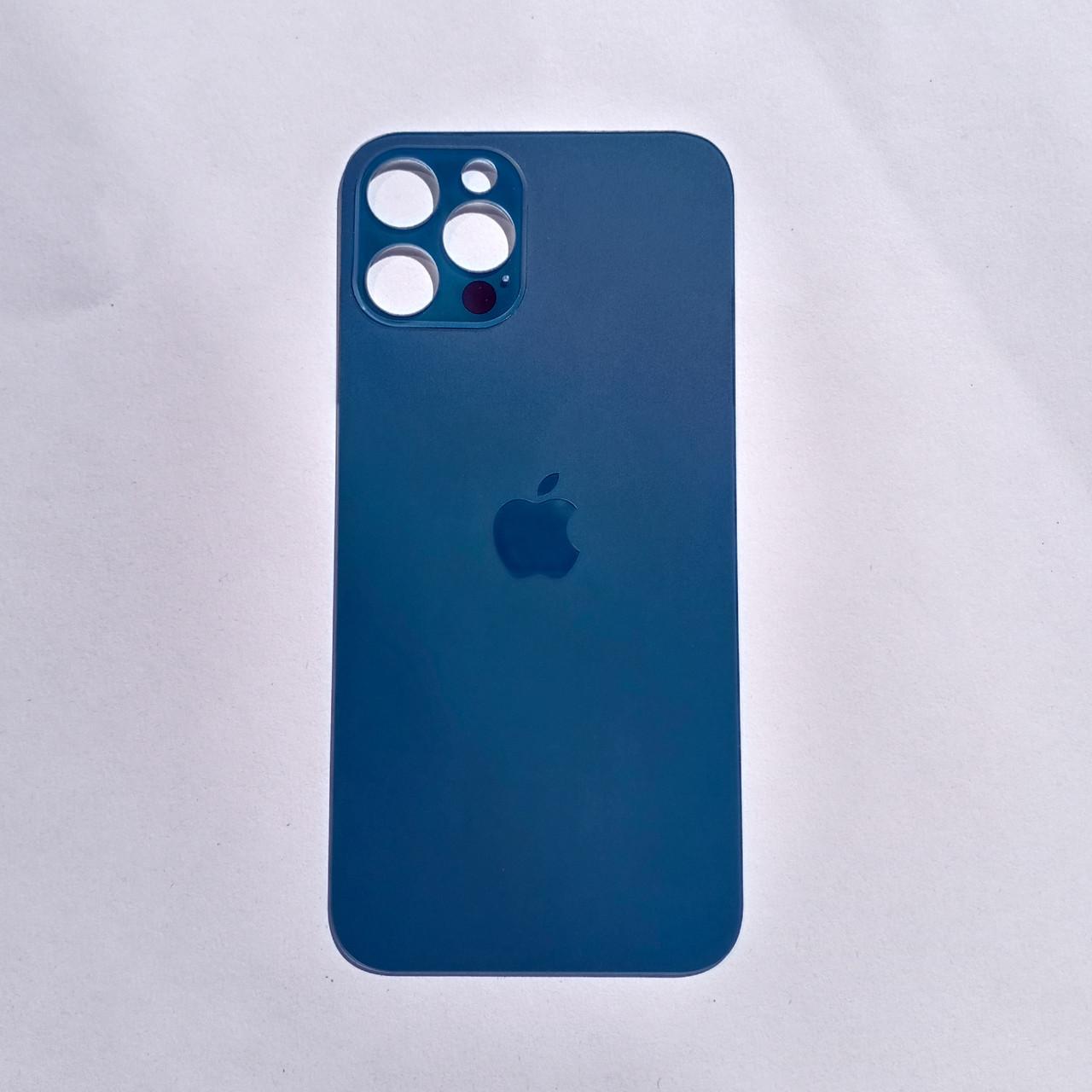 Задня панель корпусу Novacel для Apple iPhone 12 Pro Pacific Blue Big Hole