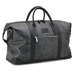 Шкіряна дорожня сумка саквояж TOM STONE