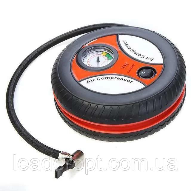 ОПТ Автомобильный компрессор колесо Air Compressor 260pi (red)