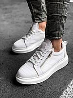 Чоловічі кросівки pau11 white, фото 1
