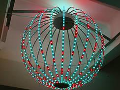 LED сфери та півсфери