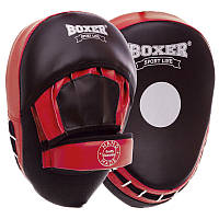Лапа вигнута (2шт) Boxer Еліт 2013-01 розмір 23х19х4,5см Black-Red