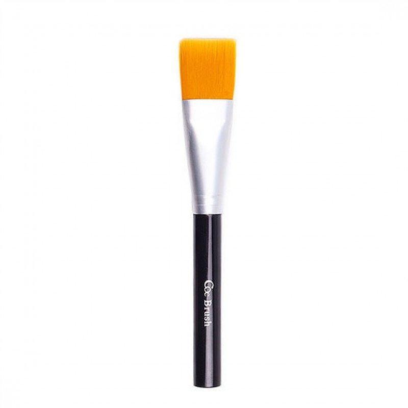 Кисть CORINGCO для удобного нанесения масок для лица Black Yellow Pack Brush