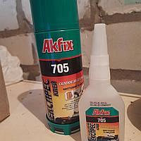 AKFIX клей для МДФ и дерева 400+100 ml (в ящике 24 шт. )