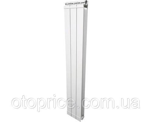 Вертикальный радиатор алюминиевый GLOBAL TONDO
