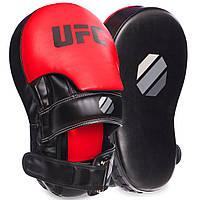 Лапа вигнута подовжена боксерська UFC 69753: 2 лапи в комплекті (35х21х15см), фото 1