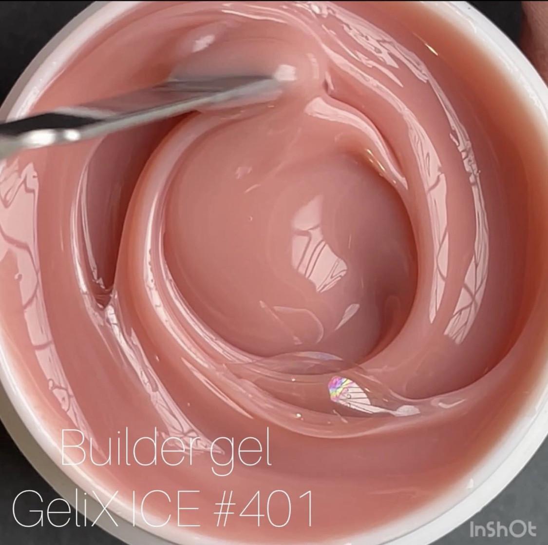 Гель для нарощування нігтів GeliX ICE -№401