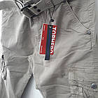Джинси чоловічі ITENO (Tophero) світло-сірі оригінал р. 30 прямі весна/осінь (є інші кольори), фото 4