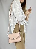 Розовая сумка на пояс женская из экокожи 99x3, фото 1