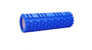 Масажний валик (ролик) для йоги та фітнесу / Пінний масажний рол 45*14 см