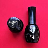 15ml. Monolit Top No Wipe With UV Filters Luxton - топ для гель-лака, без липкого слоя , с УФ-фильтром