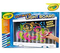 Crayola Ultimate Light Board Drawing Tablet Планшет з підсвіткою Планшет с подсветкой White