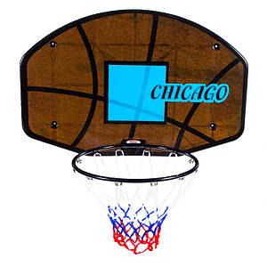 """Кольцо баскетбольное, щит""""Chicago"""", CNB-1238C."""