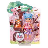 Кукла Zapf Mini Chou Chou Лисички Кими 12 см с аксессуарами (920374)