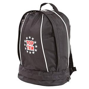 Рюкзак спортивний Top10, чорний, 41*33 див.