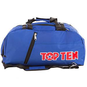 Сумка спортивная Top10, синий, 58*27*29 см.