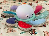 Осьминог ночник, музыка, свет, коробка 27,5*15,5*22,5 см, мягкая игрушка ночник BB1904, фото 1