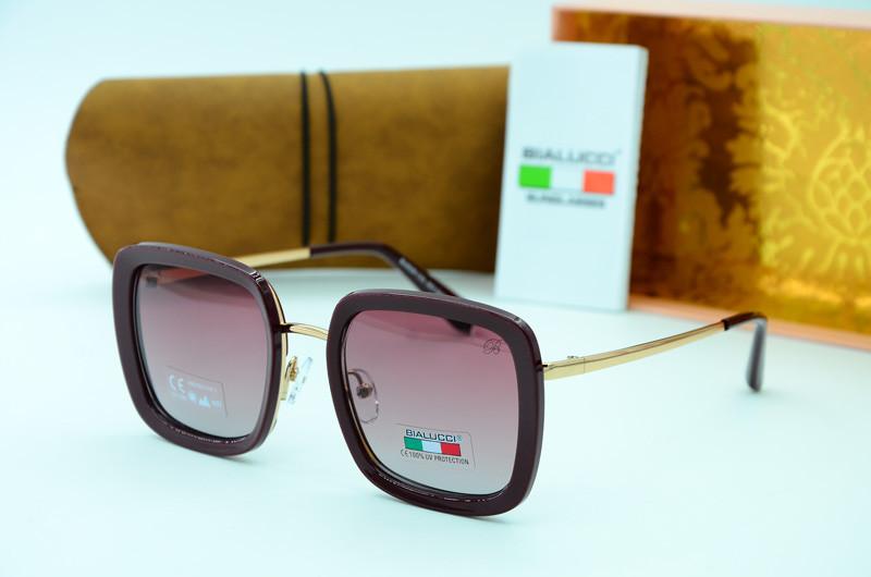 Жіночі квадратні окуляри сонцезахисні Bialucci 6028 с03