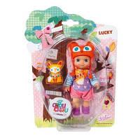 Кукла Zapf Mini Chou Chou Лисички Лакки 12 см с аксессуарами (920336)