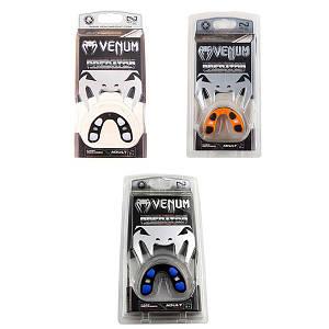Капа Venum Predator, гель, 87272V, черный, синий, оранжевый,красный