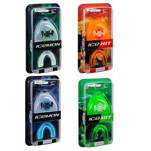 Капа Flamma IceHit  Junior, односторонняя, с запахом, 4 цвета. Скидка