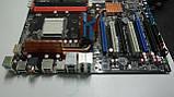 Материнская плата Asus M4A79T Deluxe (AM3, AMD 790FX) на запчасти, фото 2