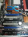 Материнская плата Asus M4A79T Deluxe (AM3, AMD 790FX) на запчасти, фото 5