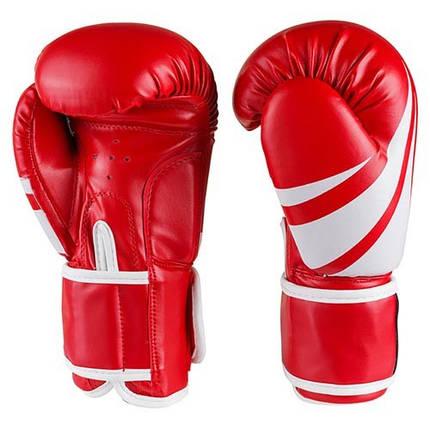 Боксерські рукавички Venum, DX, 8,10,12 oz червоний, фото 2