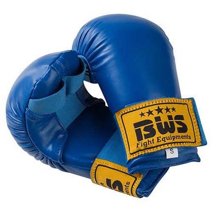 Накладки для карате BWS4009, S, M, L, синий, фото 2