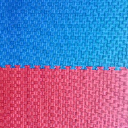"""Мат""""ластівчин хвіст"""" 1мх1мх2,5см, червоно-синій."""