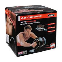 Ролик преса PERFECT AB CARVER PRO, до 130 кг. Знижка, фото 2