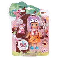Кукла Zapf Mini Chou Chou Лисички Энни 12 см с аксессуарами (920398)