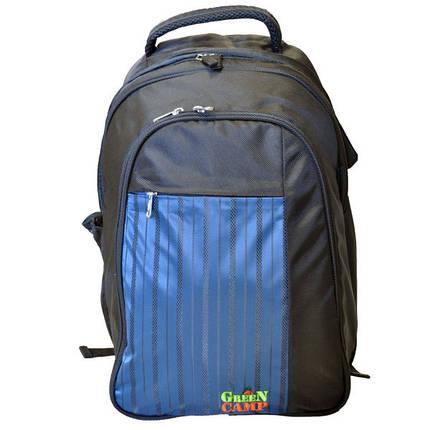 Рюкзак-пикник GREEN CAMP, 6чел, синий, GC0979.02, фото 2