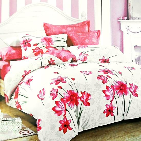 Комплект постельного белья семейный Elway 5033 Pink Blossom