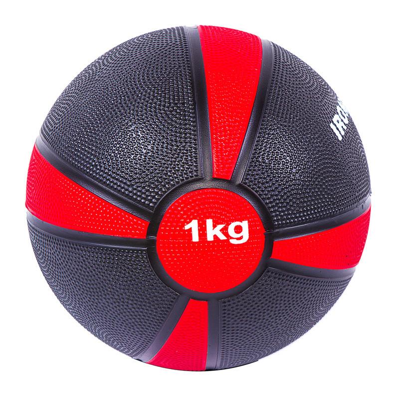 М'яч медбол IronMaster(4/1) 1кг, d=19см