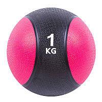 Мяч медбол 1кг (2/1), d=19 см, 87034-1