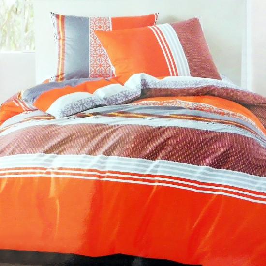 Комплект постельного белья семейный Elway 5041 Orange Fresh