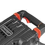 Професійний електричний відбійний молоток (бетонолом) Dnipro-M SH-210AV 65 Дж потужний відбійник, фото 5